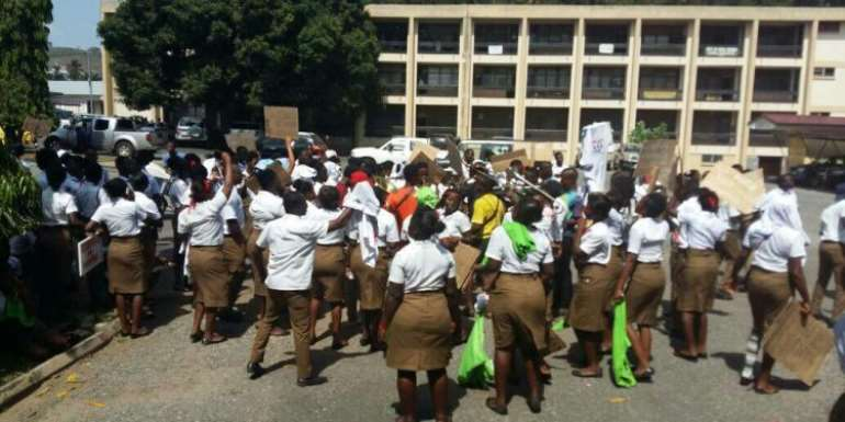 Gov't Lying To Us About Allowance Negotiations – School Of Hygiene Students