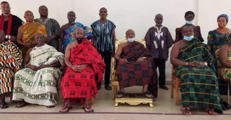 We're Working To Sustain Peace At Banda Bongase - Togbe Afede