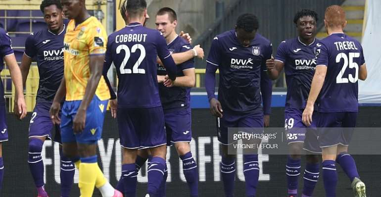 Jeremy Doku Provides Assist In Anderlecht's 3-1 Win Against St. Truiden