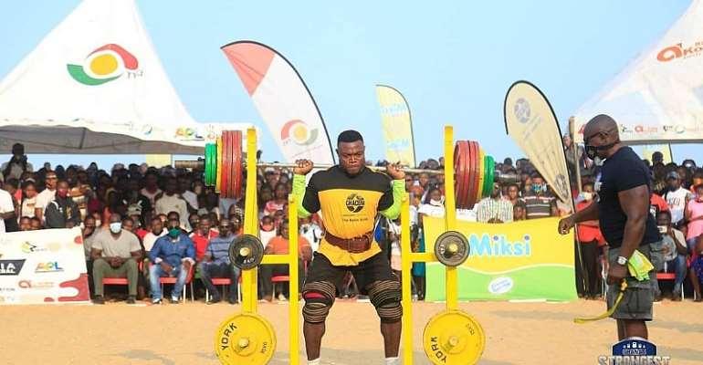 Ahmed Boakye Is 2020 Ghana's Strongest!