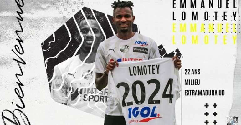 French Outfit Amiens SC Sign Ghanaian Midfielder Emmanuel Lomotey