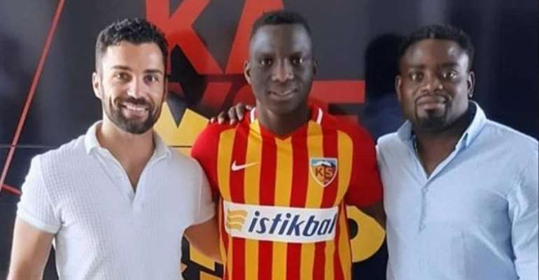 Done Deal: Ghanaian Midfielder Yaw Ackah Signs For Kayserispor