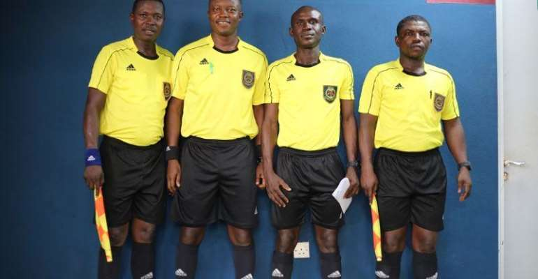 GFA Referees Committee Select 30 Referees To Undergo FIFA Elite Course