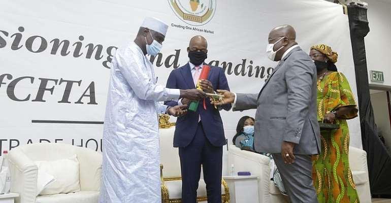 Ghana Hands Over AfCFTA Building To AU Commission
