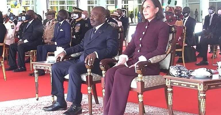 © Présidence de la République Gabonaise via Facebook