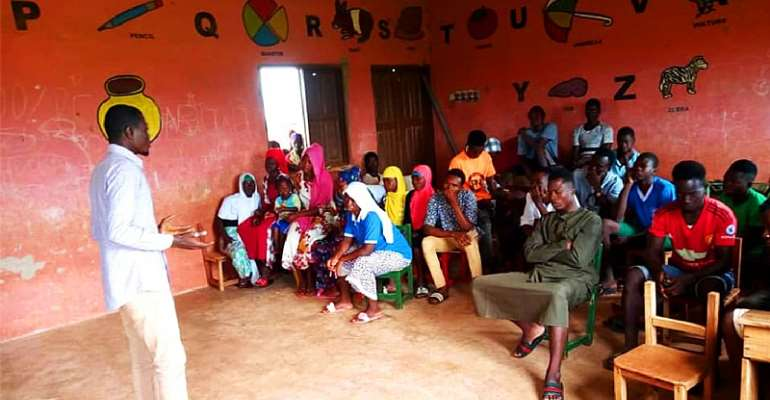 International Youth Day: NRYN Organises Capacity Building Forum For Young People in Kpeni