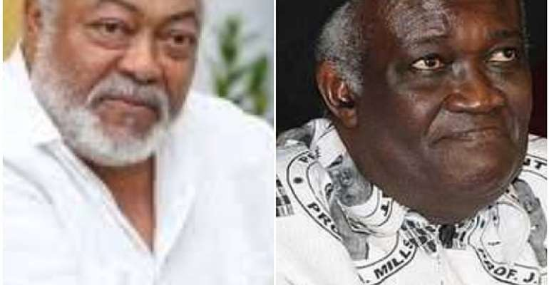Ahwoi Scheming To Take Over NDC If Mahama Losses 2020 Elections – Rawlings