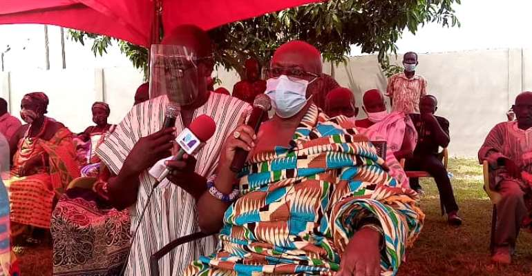 V/R: 'Desist From Profiling Us As NDC Party Agents; Respect Us' – Volta Chiefs To Politicians