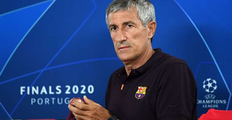 Quique Setien Sacked As Barcelona Head Coach, Set To Be Replaced By Ronald Koeman