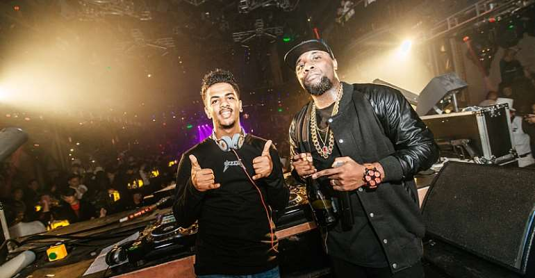 Ghanaian and Ethiopian duo, Blackbusters take over Asia