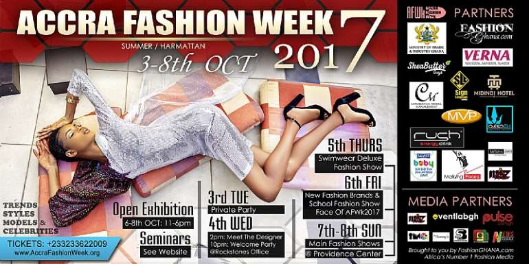 Accra Fashion Week To Take Place Twice A Year