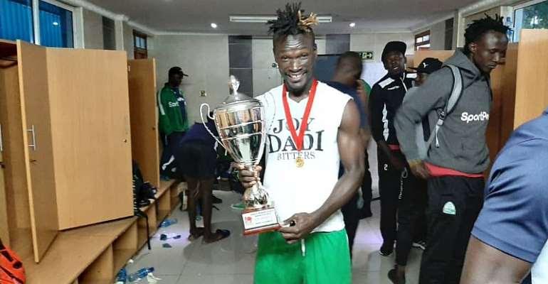 Francis Afriyie wins Super Cup with Gor Mahia