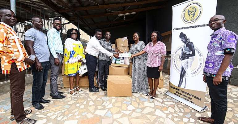 Diaspora NGO GWAG Hurls Out A Lifeline To Cape Coast Teaching Hospital