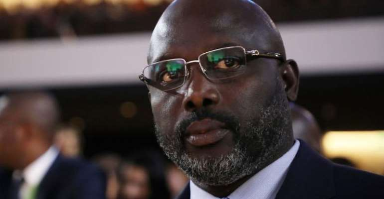 Liberia Dwindles In The Cesspool Of Misery Under Ex-Soccerstar -George M.weah