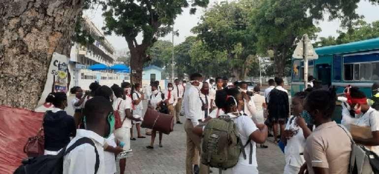 School Of Hygiene Students Boycott Final Exams Over Unpaid Allowances
