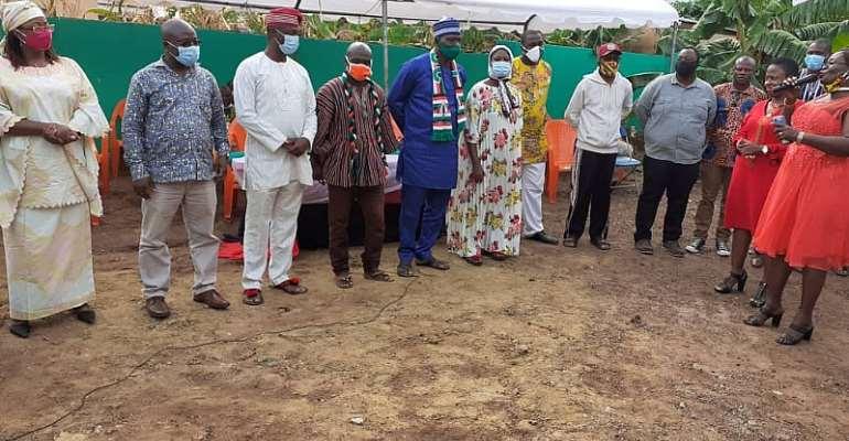 Adentan NDC Inaugurates Campaign Team