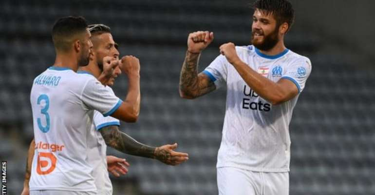 Marseille warmed up for the new campaign with a friendly against Nimes last week
