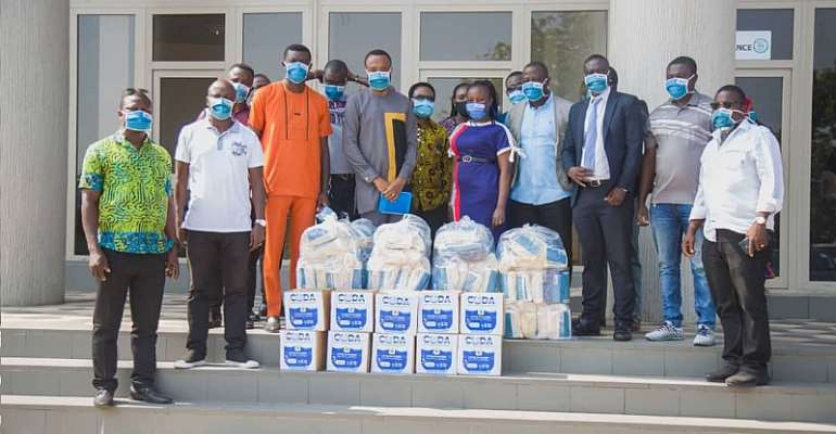 CODA Donates Face Masks, Hand Sanitizers To Greater Accra Association Of Assembly Members
