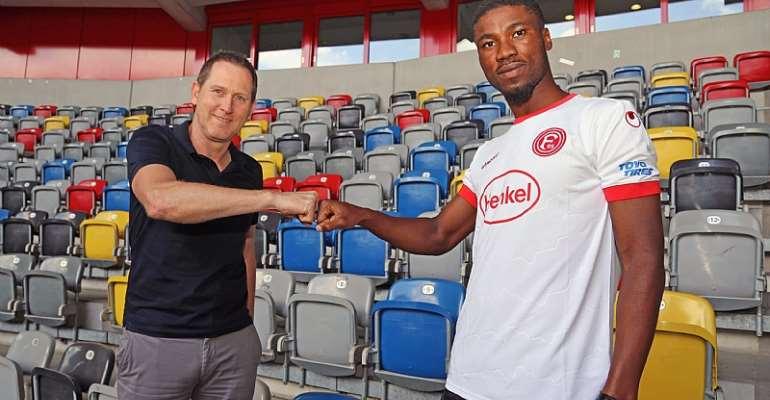 Kevin Danso Aims To Help Fortuna Düsseldorf Achieve Their Goals Next Season