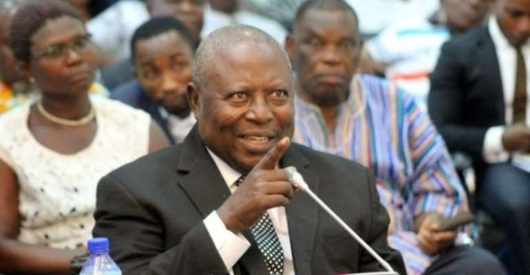 Ahwoi 'Working With Rawlings' – Martin Amidu's Critique
