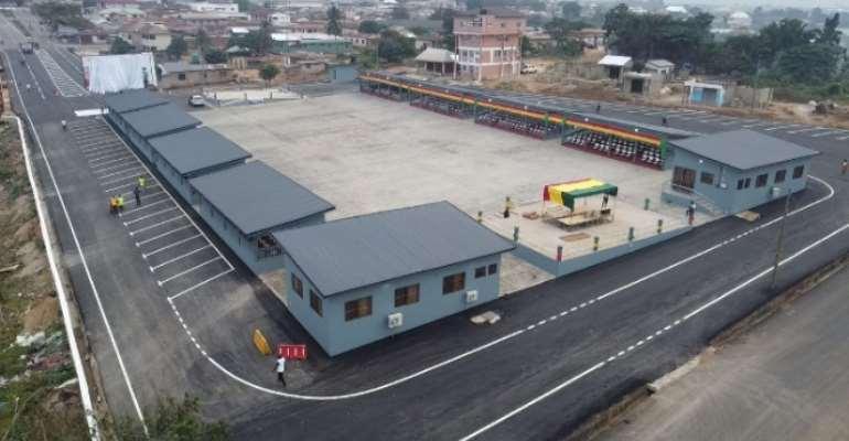 Middle Belt Development Authority constructs Ghana's biggest Public Square at Juaben