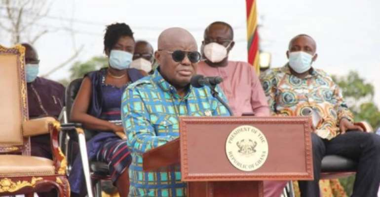 Akufo-Addo eulogises Prof. Adu Boahen with a public square at Juaben