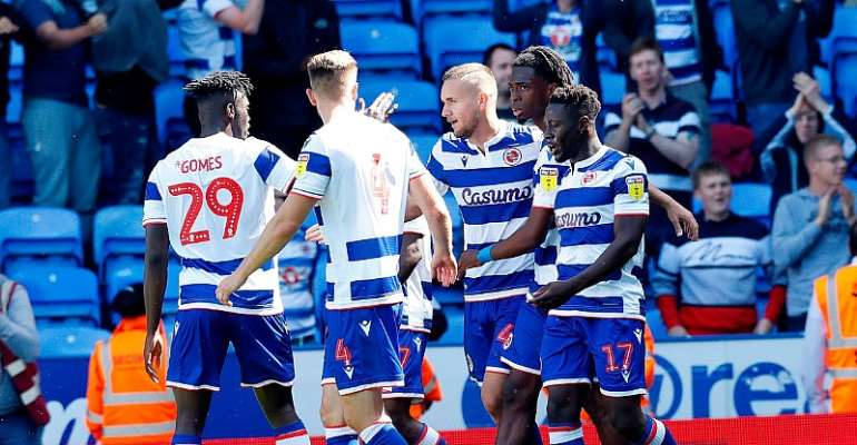 Black Stars Defender Andy Yiadom Impress In Reading's 3-0 Win over Cardiff City