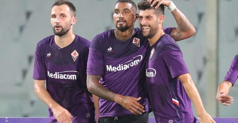 KP Boateng Express Desire To Help Fiorentina Enjoy Successful 2019/2020 Season