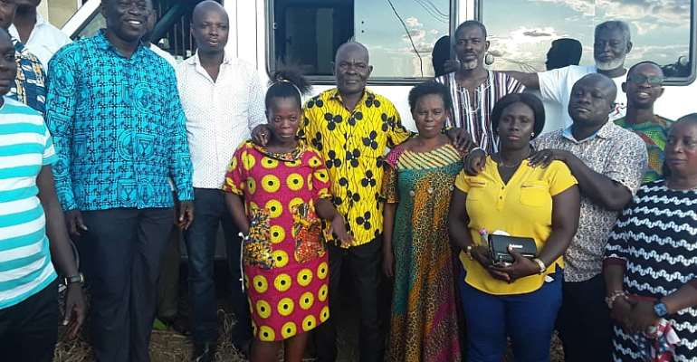 Sunyani West MP Donates 24-Seater Bus To Party Member