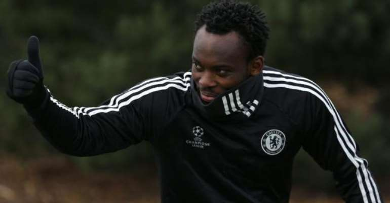 Chelsea Celebrate Legend Michael Essien [VIDEO]