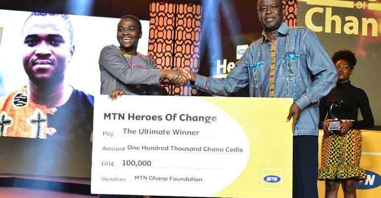 Young Scientist Wins Season 5 Of MTN Heroes Of Change