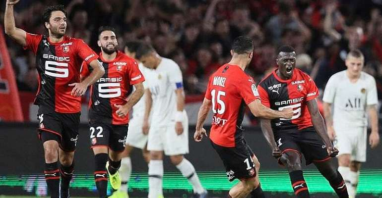 PSG Suffer Defeat At Rennes With 16-Year-Old In Starring Role