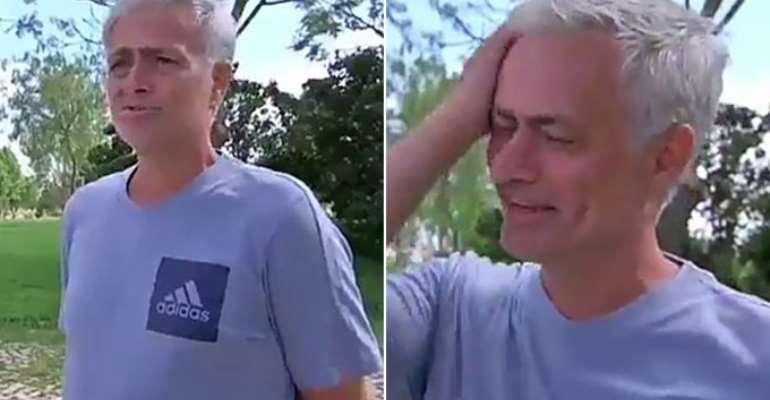 Jose Mourinho Shed Tears As He Admit He Misses Football [VIDEO]