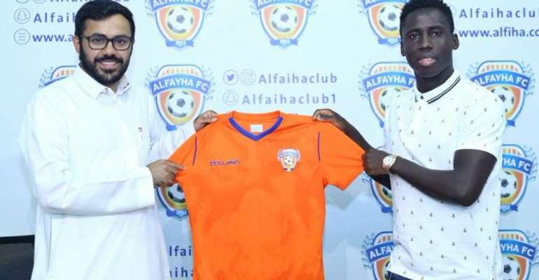 Ghana Winger Samuel Owusu Joins Saudi Side Al-Fayha FC [PHOTOS]