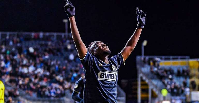 Competition At Columbus Crew Making Me A Better Player - David Accam