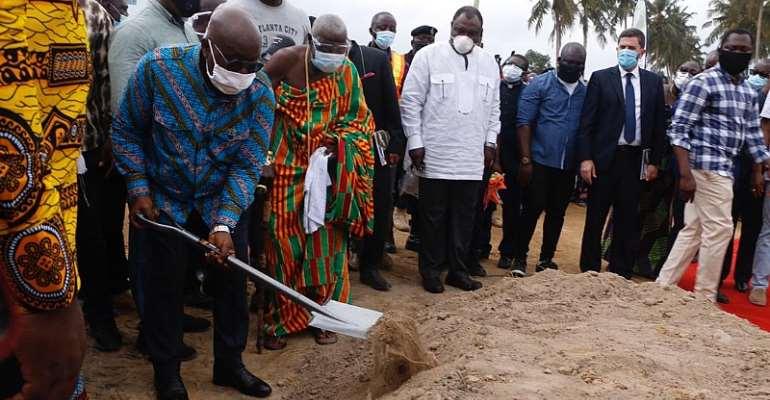 President Akufo-Addo Sets The Stage For Construction Of Sekondi-Takoradi Waste Treatment Facilities