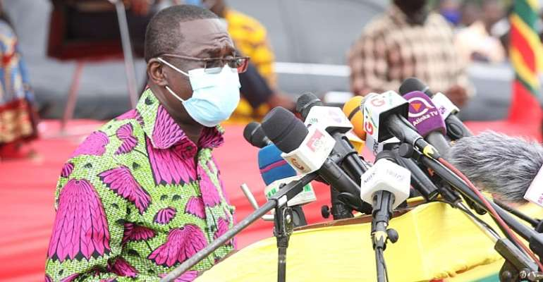 Sekondi-Takoradi Waste Treatment Facilities: President Akufo-Addo Hails Dr. Siaw-Agyepong