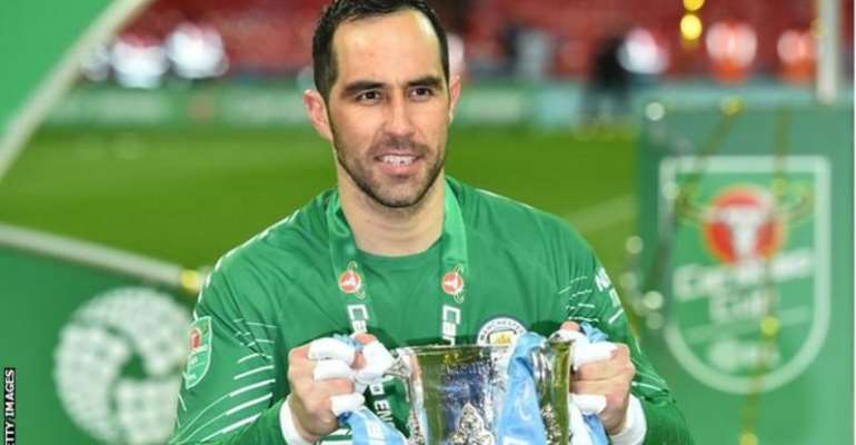 Bravo helped Manchester City win six trophies during his four-year spell, starting in the League Cup final victories in 2018 and 2020