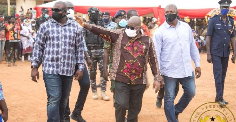 I've Fulfilled Most Of My 2016 Promises; I'm Honest, Truthful And A Man Of My Words – Akufo-Addo