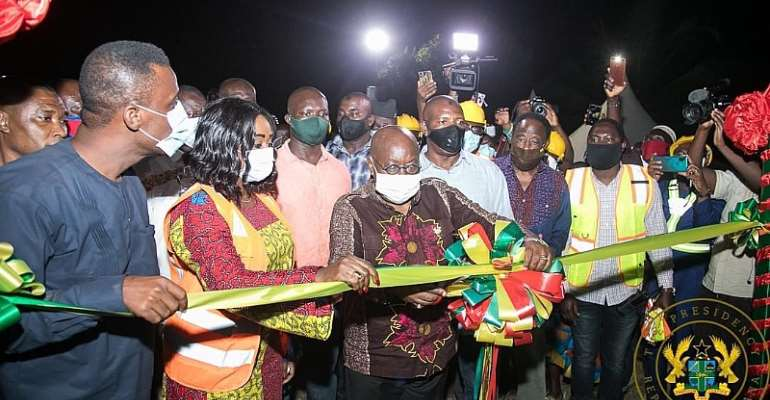 Akufo-Addo Ends Two-day Tour Of Western Region [Photos]