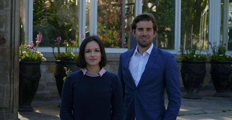 Audrey Beaulieu and Eugene Matos