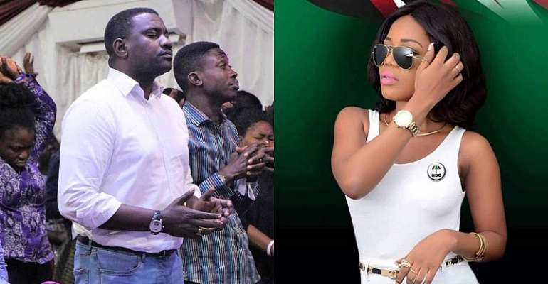 John Dumelo, Mzbel And Mr Beautiful Are In NDC To Chop Mahama's Money – Lucky Mensah (Video)