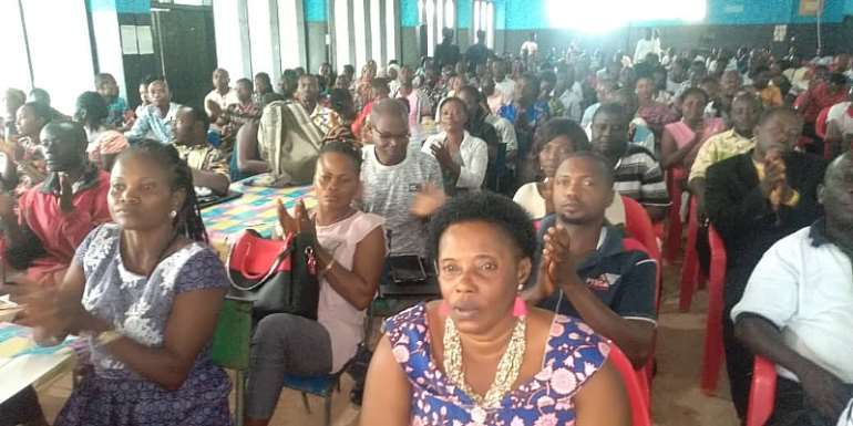 New Curriculum: Aowin Municipal Assembly Trains 757 Teachers