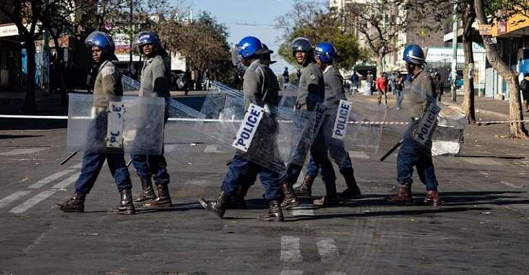 Zinyange Auntony / AFP