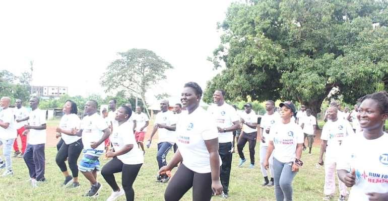 Zoomlion, JOSPONG Walks For Health