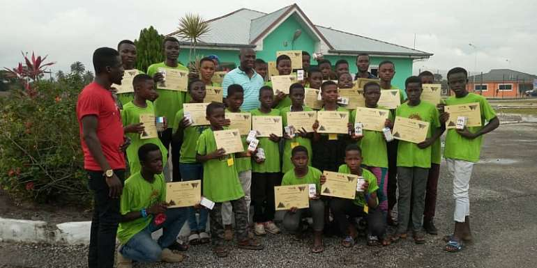 Ellembelle MP Sponsors 30 Basic School Pupils To Acquire Skills