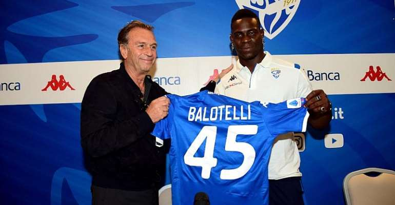 Balotelli Happy To Be Home In Brescia