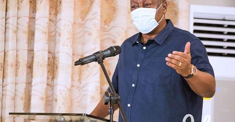Election 2020 Will Shape Ghana's Destiny – Mahama