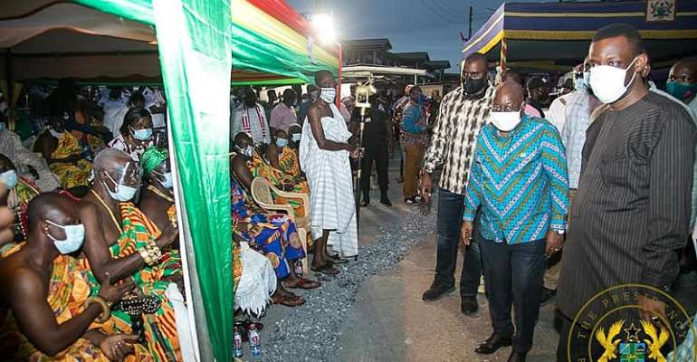 €48m Takoradi Market Circle Project Will Be Completed In 30 months – Akufo-Addo
