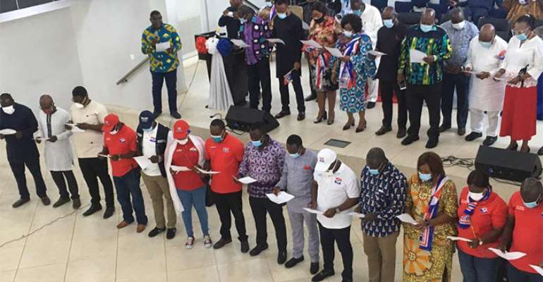 NPP Inaugurates Greater Accra Campaign Team For Election 2020